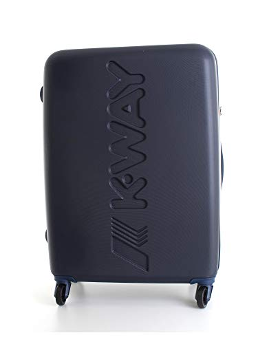 Trolley Rigido 64cm 4 Ruote Medio | K-Way | 8AKK1G020A3-Navy
