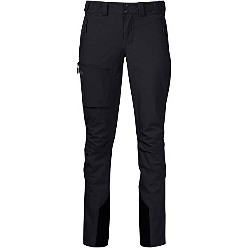 Bergans Breheimen Pantalon Softshell Femme, Black/Solid Charcoal Modèle XL 2021