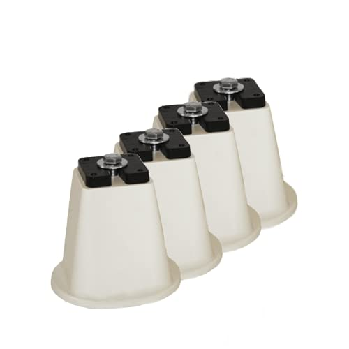 Supporti pavimento confezione 4 coni per unità esterna condizionatore portata max 2000 kg