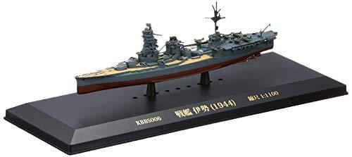 KB SHIPS 1/1100 戦艦 伊勢 (1944) 完成品
