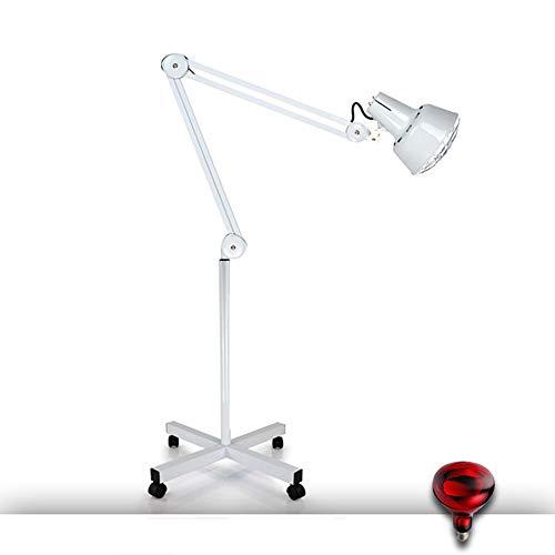 QXXNB Heizung Stehlampe, 275W Infrarot-IR-Heizung Stehlampe für Thermo Muscle Pain Relief Accupuncture Schönheit Einstellbare Temperatur Verdickungart