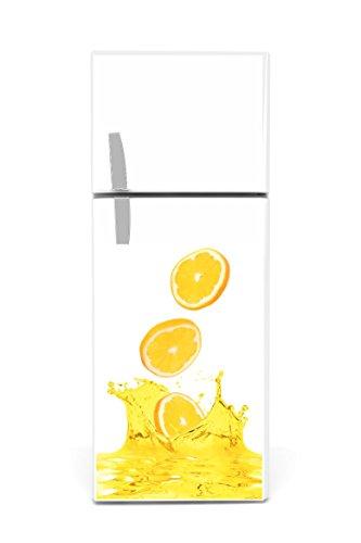 Kühlschrank Aufkleber 60 x 90 cm Orangen