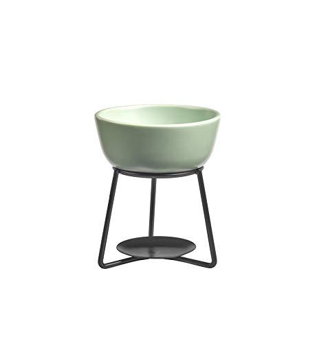 Yankee Candle Accessory - Lampada profumata in ceramica, 12 cm, colore: Verde