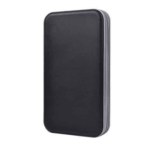 alavisxf xx CD Holder, 72 Capacity CD/DVD Case Holder Portable...