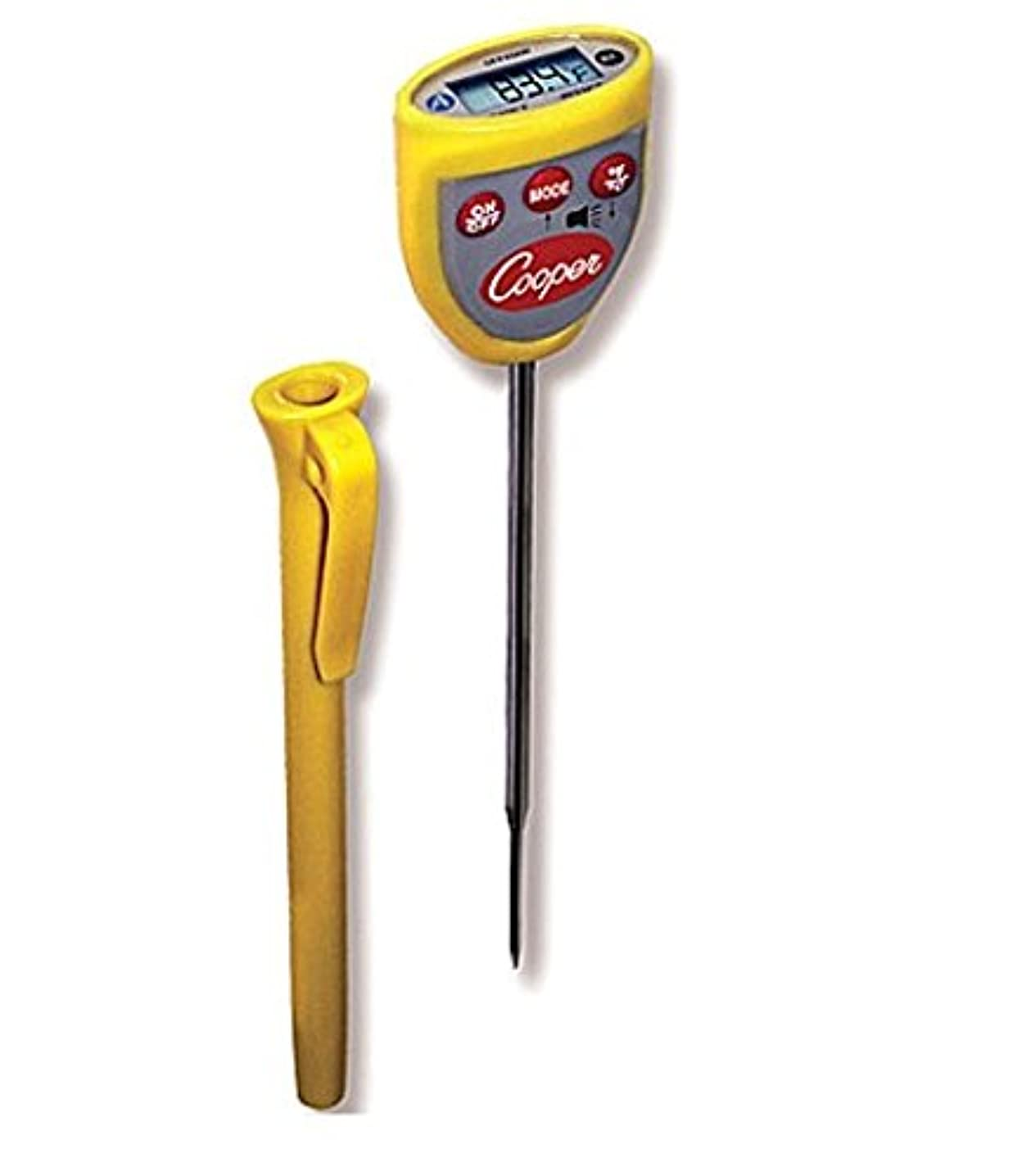 Cooper-Atkins DFP450W-0-8 Instant Read Thermometer with Temperature Alarm (Digital Thermometer with Temperature Alarm)