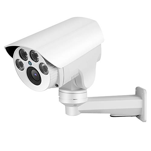 CHENGGONG Cámara, cámara infrarroja 1080P 5X 1080P, Sistema de Seguridad en el hogar de 4G SIM para chalets