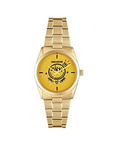 Reloj Zadig & Voltaire de acero para mujer dorado