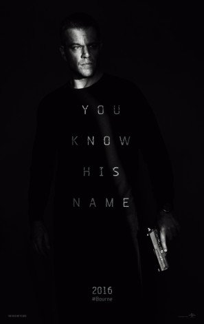 Jason Bourne – Matt Damon – U.S Movie Wall Poster Print - 43cm x 61cm / 17 Inches x 24 Inches A2