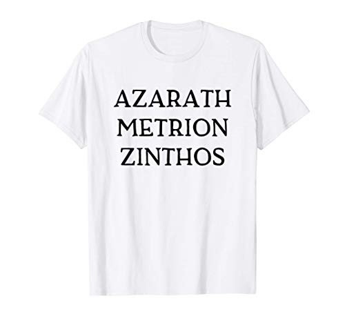 Azarath Metrion Zinthos T-Shirt Anime Comics Super Heroes Camiseta