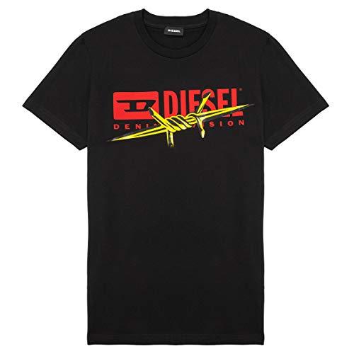 Diesel Tdiegobx2 T-Shirts & Poloshirts Jungen Schwarz - 14 Ans (14 Jahre) - T-Shirts Shirt