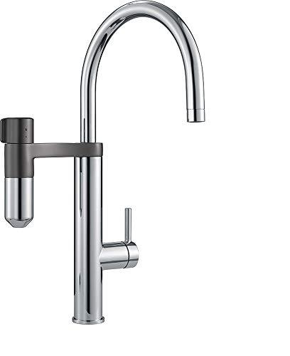 Franke 120.0551.218 Grifo de cocina con sistema de filtración de agua, Chrome/Gun Métal