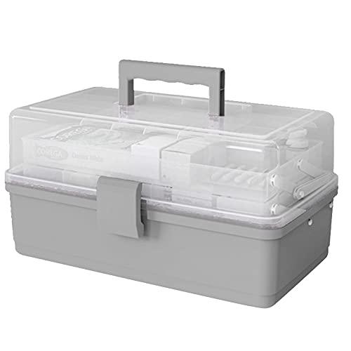 Draagbare Plastic Opbergdoos Home Cosmetica Organizer Medicijn Case Sieraden Organizer Opbergdoos Make-up Storage…