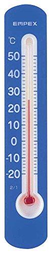 エンペックス気象計 温度計 マグネットサーモ・ミニ 縦型 ブルー TG-2516
