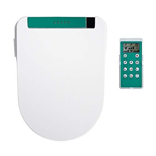 Asiento de inodoro inteligente, control remoto eléctrico cubierta bidé, Auto Clean seco...