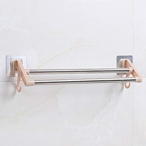 Toallero de acero inoxidable con doble barra giratoria para baño o cocina, para montar en la pared, con soporte doble para toallas, de Home Improvement on Aliexpress.com | Alibaba Group