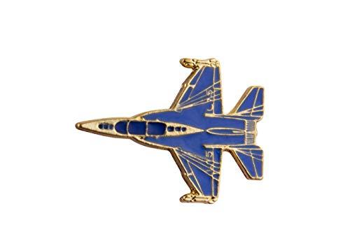 Knighthood Blue Fighter Jet Anstecknadel Anstecker Mantel Anzug Jacke Hochzeit Geschenk Party Hemd Kragen Zubehör Brosche