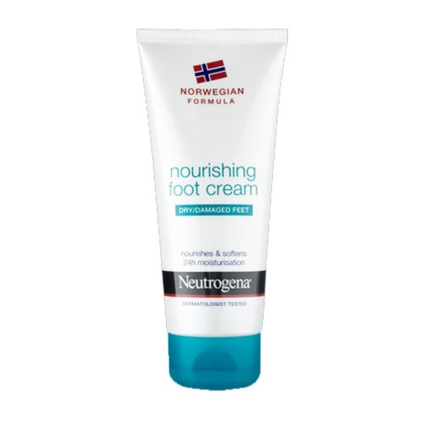 恋人男機械的Neutrogena Nourishing Foot Cream 100ml [並行輸入品]