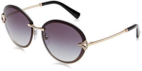 Bulgari 0BV6101B 20148G 61 Gafas de sol, Dorado (Pink Gold/Greygradient), Mujer