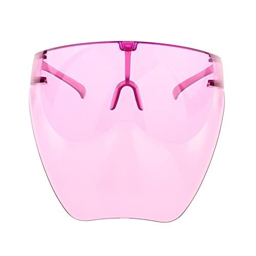 Perfeclan Gafas de sol antiniebla gafas Unisex Visor protector de cara completa Gafas de lente - Púrpura