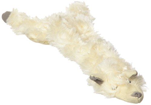 SPOT Mini Skinneeez | Stuffless Dog Toy with Squeaker For All Dogs | Tug-Of-War Toy For Small and Large Breeds | 13' | Wooly Sheep Design | By Ethical Pet