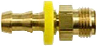 Brennan Industries 2115-06-06-B Brass Straight Tube Fitting, 3/8