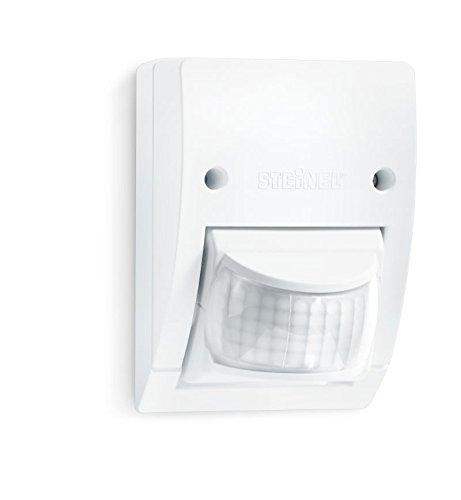 Steinel Infrarot-Bewegungsmelder IS 2160 weiß, 160° Sensor schwenkbar, max. 12 m, Dämmerungssensor, IP54, max. 600 W