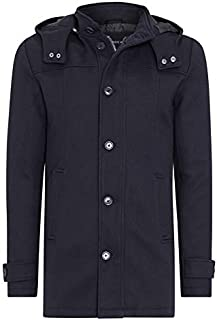 Tarocash Men's Wales Coat Navy S Polyester Blend Sizes Small - 5XL for Going Out Smart Occasionwear