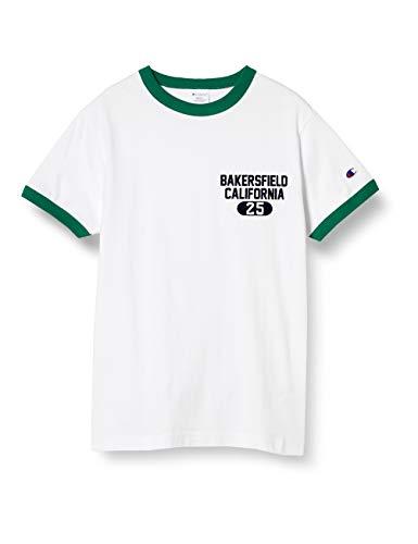 [チャンピオン] Tシャツ 綿100% ワンポイントロゴ ショートスリーブTシャツ ベーシックメンズ C3-T314 ダークグリーン M