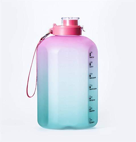 N-B Taza de Agua Taza de Agua de Gran Capacidad Tritan Taza Resistente al Calor Taza de plástico Botella de Agua Deportiva Botella de Agua Deportiva