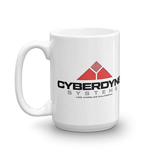 Terminator Cyberdyne Systems. 15 Oz Ceramic Coffee Mug with large handle