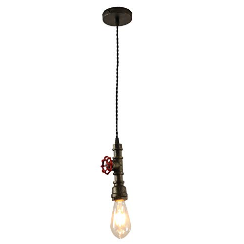 INJUICY Industriel Vintage Retro E27 Edison Steampunk Lampe