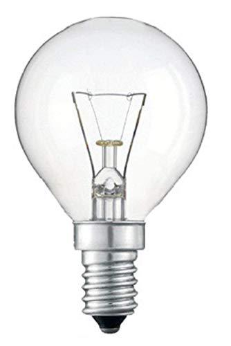 Paquete de 4 bombillas de 40 W SES E14, clásicas
