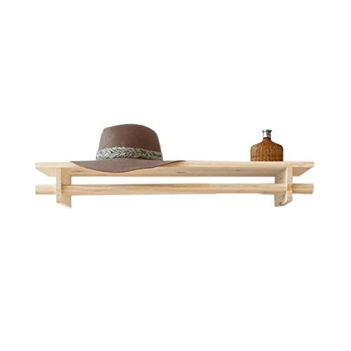 XLYYHZ Estantes flotantes decorativos de madera maciza, exhibición en el hogar, estante de almacenamiento para sala de estar o dormitorio 1HUIYANG-01020