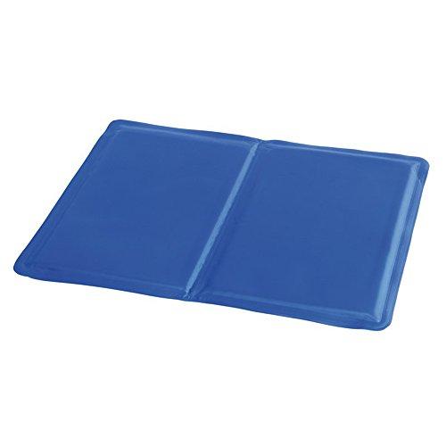 Preiswert&Gut Kühlmatte bei Migräne Kühldecke Hitzewallungen Kühlkissen selbstkühlend 40x30cm Sitzkissen Kühlmatte Farbwahl (Blau)