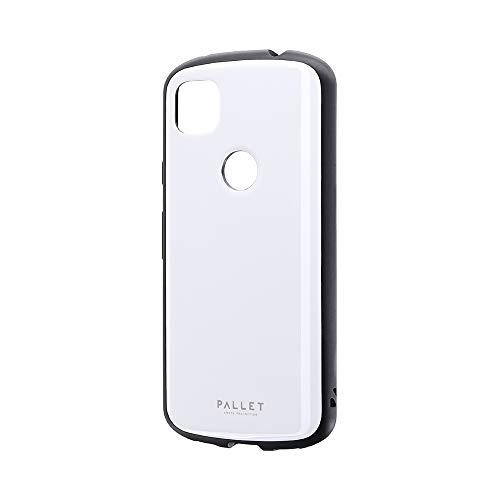 ビアッジ Pixel 4a 耐衝撃ハイブリッドケース 「PALLET AIR」 ホワイト LP-M20SP1PLAWH 【Amazon限定ブランド】