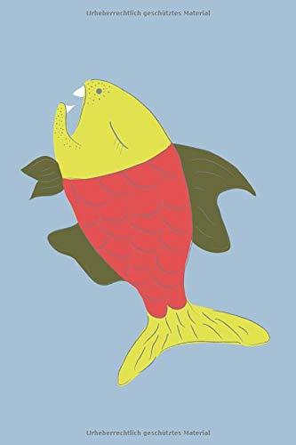 Notizblock Fisch: Fangtagebuch für Angler