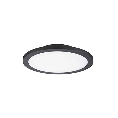 Girard Sudron Plafonnier LED 14W Noir Ø270mm