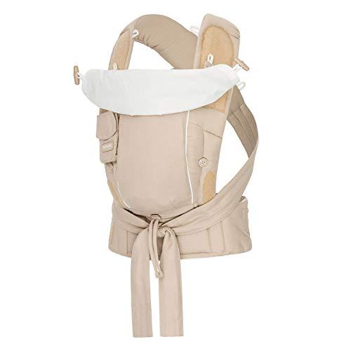 Bondolino® Porte-bébé sable-crème, coton ABC