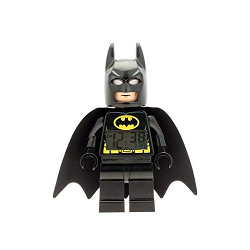 LEGO Batman Light Up Super Hero Alarm Clock Black O/S