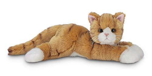 Bearington Tabby Plush Stuffed Animal Orange Striped Tabby Cat, Kitten 15 inch