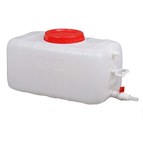 Bidón Plástico con Grifo 25L Depósito De Agua Gran Capacidad Bidón Plástico Con Grifo Contenedor De Almacenamiento De Agua Tanque De Almacenamiento Agua Dispensador De Agua Portador De Almacenamiento