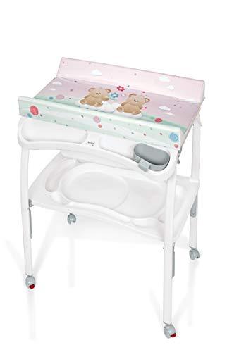 Brevi 596-586 Pratico bañera Oso rosado