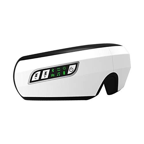 Masajeador Facial Y De Ojos (Modelo 2019) - MáScara Ocular Y De Cabeza/Gafas De Masaje Electricas Plegables Con Vibromasaje, Presoterapia, Calor Y MúSica