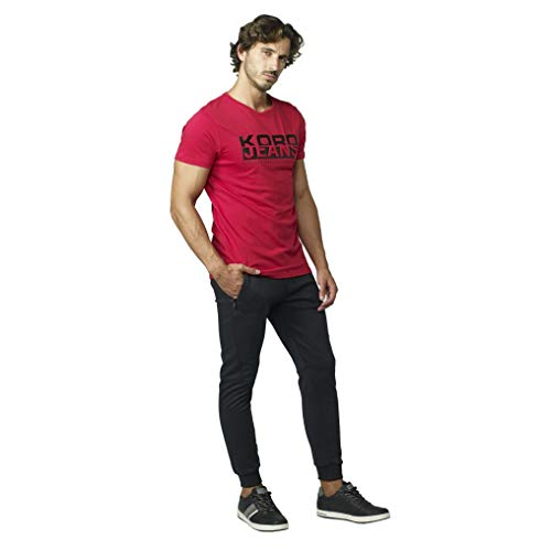 Koroshi Camiseta con Estampado DE Texto