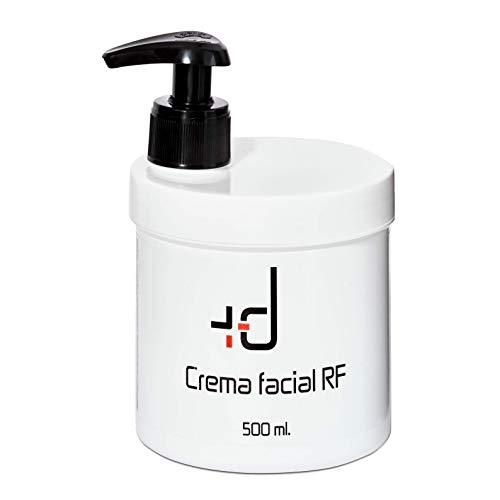 MASDERM | Crema Facial Radiofrecuencia Hidratante | Antiarrugas | Ácido Hialurónico | Profesional | Mujer | Con Centella Asiática 500gr