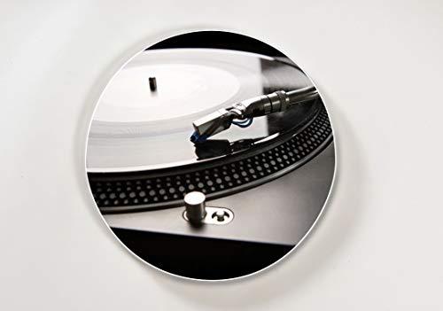 Lightclub-Shop.de - Pizarra magnética redonda (44 cm de di