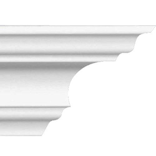 Zierprofile extrudiert aus Polystyrol 60/60 mm