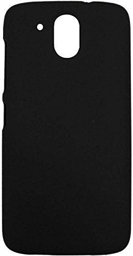 JMD Slim Matte Finish Rubberized Black Hard Back Case Cover for HTC Desire 526