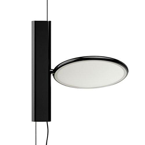 Flos OK - Lámpara colgante (18 W, 20 cm), color negro