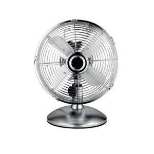 MERCATOOLS Ventilador sobremesa CLÁSISC. 230V. 50Hz. 3 velocidades con Potencia 40W Medida: 39x30 cm